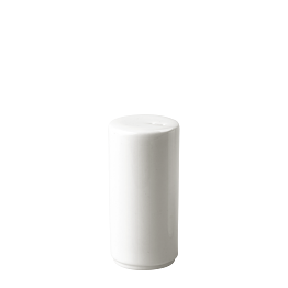 Porzellan-Salzstreuer weiss (ohne Salz geliefert)