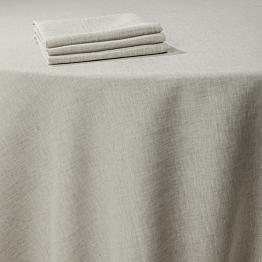 Serviette Leinen schnurfarbe 50 x 50 cm