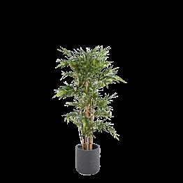 Künstlicher Bambus H 180 cm mit Topf
