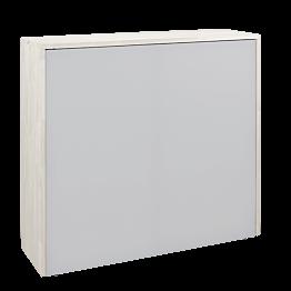 Faltbarer Empfangsdesk weiss 120 x 35 cm H 110 cm