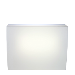 Bar Igloo beleuchtet, gerades Modul 75 x 140 cm H 108 cm