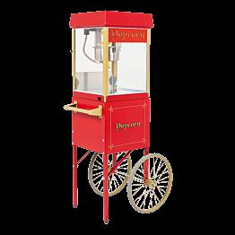 Pop-corn Maschine auf Wagen 56 x 42 cm H 156 cm