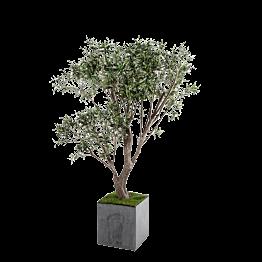 Künstlicher Olivenbaum H 185 cm mit Topf