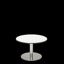 Tisch tief Hobby weiss Ø 60 cm H 40 cm