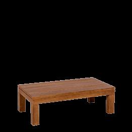 Tisch tief Holz 110 x 60 cm H 35 cm