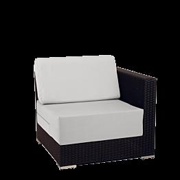 Modu Lounge grau, Ecke 80 x 80 x 67 cm