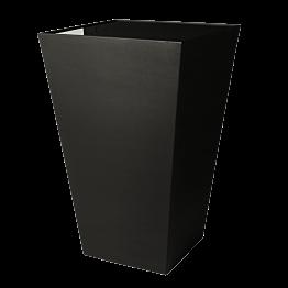 Stehtisch Kegel schwarz, Oberfläche schwarz