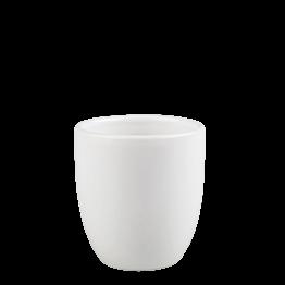 Becher Pop's Weiss 15 cl Ø 7,5 cm H 8 cm