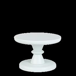 Kleiner Präsentierständer Himmelblau Pop's Ø 15 cm H 10,5 cm