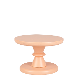 Kleiner Präsentierständer Pfirsich Pop's Ø 15 cm H 10,5 cm