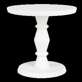 Grosser Präsentierständer Weiss Pop's Ø 21 cm H 20 cm
