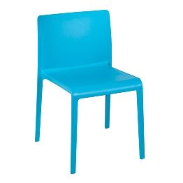 Stuhl Sila blau