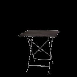 Tisch Trocadéro viereckig schwarz 70 x 70 cm