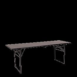 Festtisch schwarz 70 x 220 cm H 78 cm