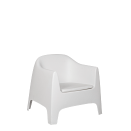 Sessel Lalisse weiss 89 x 84 x 122 cm