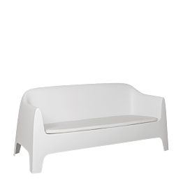 Sofa Lalisse weiss 84 x 82 x 183 cm