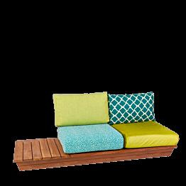 Sofa Lounge Ibiza 76 x 204 cm H 70 cm