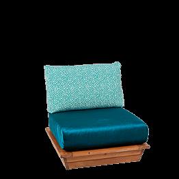 Sessel Lounge Ibiza 76 x 76 cm H 70 cm