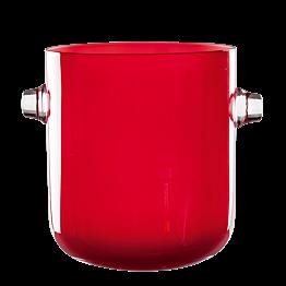 Champagnerkübel rot Ø 19 cm H 21,5 cm
