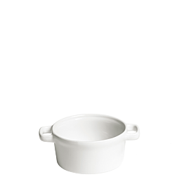 Schmortöpfchen weiss Ø 10 cm 25 cl