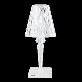 Lampe Prisma mit Akku H 22 cm