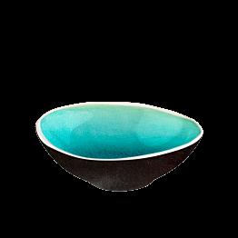 Schale Lagon 10 x 8 cm H 3,4 cm  12 cl