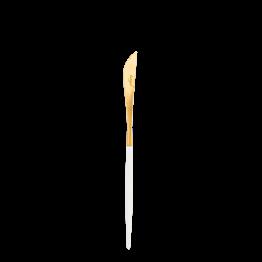 Vorspeisenmesser Cutipol weiss und gold