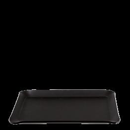 Tablett Soft schwarz 24 x 18 cm