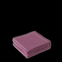 Stoffservietten 2-faltig auberginefarben (30 stück)