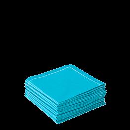Stoffserviette 2-faltig hellblau 20 x 20 cm (30 stück)