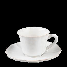 Espresso- Ober- & Untertasse Romance 9 cl