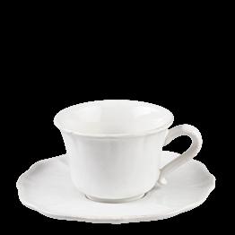 Kaffee-/Teetasse mit Unterteller Romance 20 cl