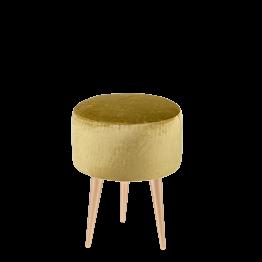 Sitzkissen Juliette grün Ø 35 cm H 44 cm