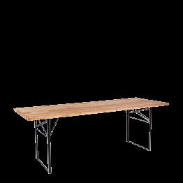 Tisch rechteckig Wood 90 x 220 cm H 72 cm