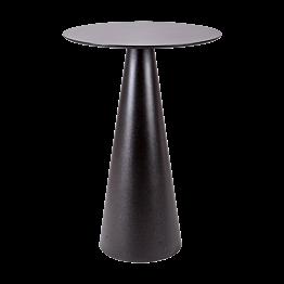 Stehtisch Ikone schwarz Ø 69 H 106 cm