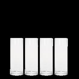 6er-Pack Zylinderförmige Vase Ø 9 cm H 25 cm