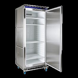 Kühlschrank aus Edelstahl 600L