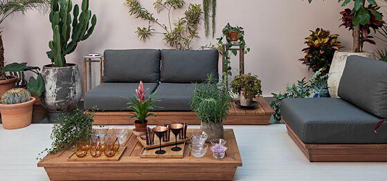Vegetations-Lounge