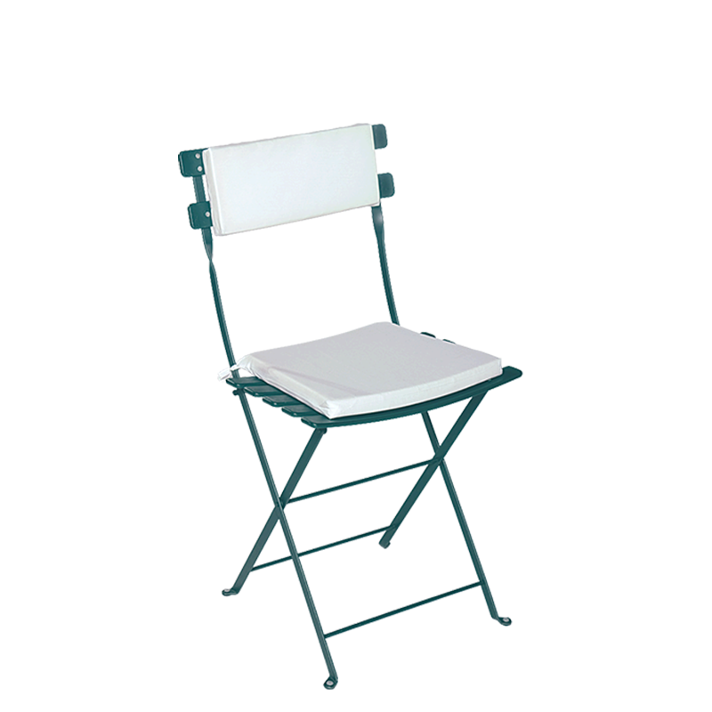 Vermietung Stuhl Trocadero Grün Sitzkissen Und Rückenpolster Weiss