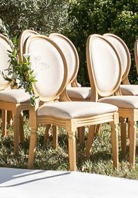 Medaillon Stühle